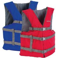Stearns Adlt Gen Purpose Vest Unvr Red