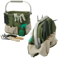 Picnic and Beyond Foldaway Aluminum Framed Garden Tools Carry Bag