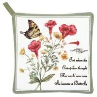 Alice's Cottage Yellow Swallowtail Potholder