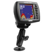 RAM Mount Double Socket Arm f/Garmin Marine Fixed Mount GPS 1""