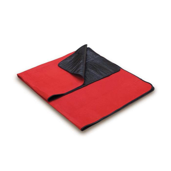 Picnic Time Blanket Tote-Red/Black