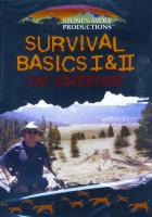 Stoney-Wolf Productions Survival Basics 1 & 2 DVD