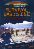 Stoney-Wolf Productions Survival Basics 1 & 2 DVD