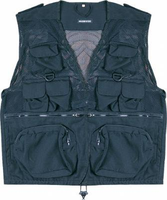 Humvee Tactical Vest - Black, Medium