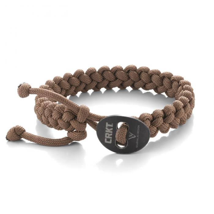 Columbia River (CRKT) Quick Release Paracord Bracelet - Small Tan
