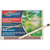 Diamond Strike Anywhere Matches, 10 Pack