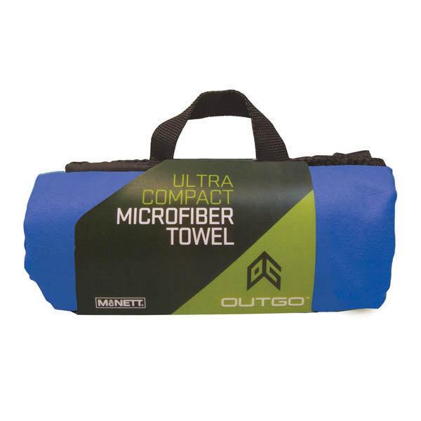 Outgo Microfiber Towel, 30 x 50 in., Cobalt