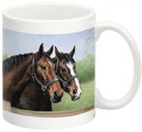 Fiddler's Elbow Caroline's Horses 15 oz Mug