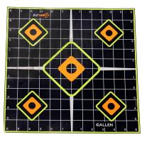 EZ See Adhesive Sight In Grid Target 5/pk