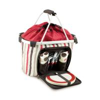 Picnic Time Melrose - Moka Insulated Tote for Four