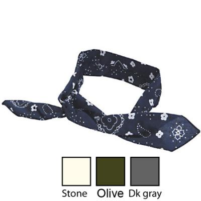 White Rock Cotton Cool Tie Stone
