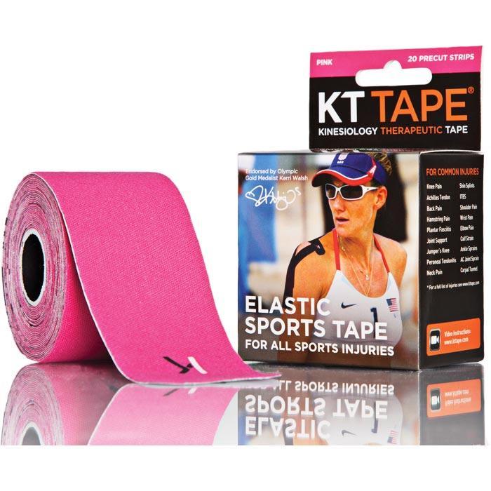 Kt Tape Pre-cut Pink