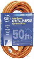 GE JASHEP51926 Indoor/Outdoor Extension Cord (50 ft)