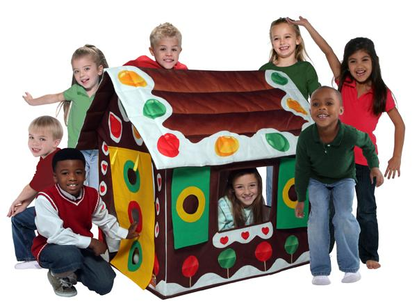 Bazoongi Kids Play Structure, Gingerbread House