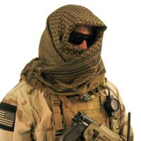Blackhawk Product Group Tactical Shemagh, Olive/Black