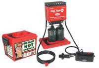 Zodi Double Burner Hot Tap HP with Hard Case, 6 Volt Pump