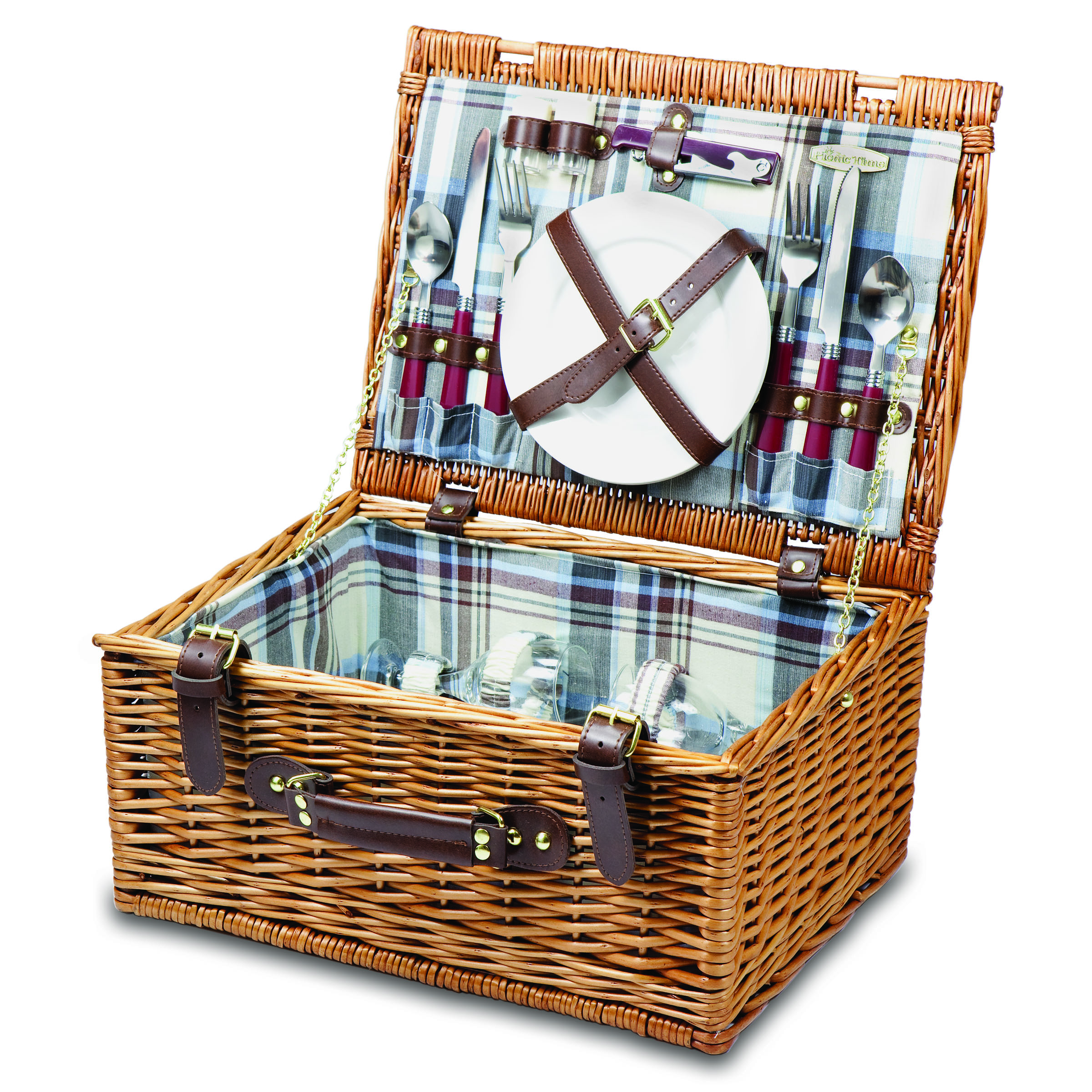 Picnic Basket Items : Picnic time bristol two person willow basket