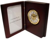 Chass Book of Time Clock & Photo Frame