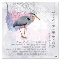 Tree Free Greetings Great Blue Heron Magnet
