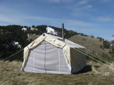 14x16x5ft Magnum Wall Tent and Angle Kits
