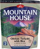 Mountain House Chicken Teriyaki with Rice - Serves 2