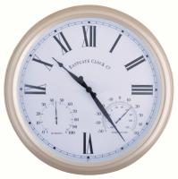 Best For Birds Metal Outdoor Clock Large