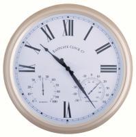 Best For Birds Metal Outdoor Clock Large