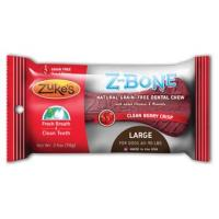 Zukes Z-bone Dental Bone - Cherry, Lg