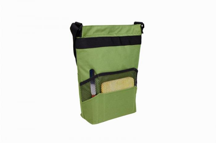 Primeware (2022-OL) Tango - Two Bottle Wine & Cheese Tote Olive