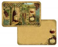 Counter Art Italian Wine Reversible Placemat