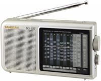 Sangean SG622 12-Band Compact World Band Receiver with LED