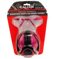 Orchid Womens Shooting Muff & Glasses
