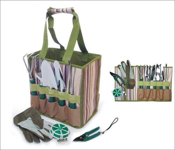 Picnic & Beyond Garden Tools Carry Bag with Accessories