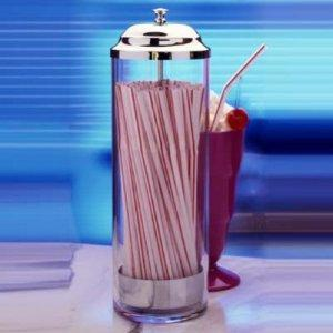 Prodyne Acrylic Straw Dispenser