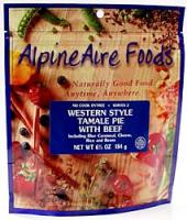 Alpine Aire Western Style Tamale Pie with Beef