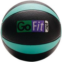 Gofit GF-MB4 Medicine Ball (4 lbs; Black & Green)