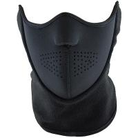 Half Face Mask, Black, One Size