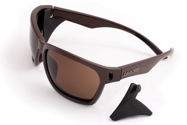 Cold Steel Knives Battle Shades Mark III, Dark Matte Brown Frame, Brown Lens