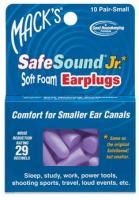 Mack's Safe Sound Junior Earplugs, 10 Pack