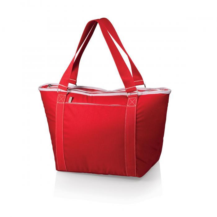 Picnic Time Topanga Cooler Tote, Red