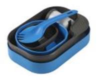 ProForce Wildo Camp-A-Box W/Spork, Light Blue