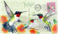 American Expeditions Hummingbird Postcard Cutting Board