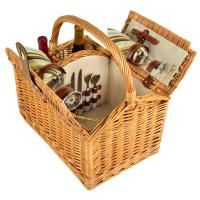 Picnic at Ascot Vineyard Picnic Basket for 2, Santa Cruz