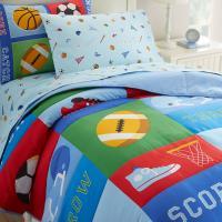 Olive Kids Game On Full Comforter