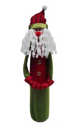 Primeware Wine Sock Noel Collection, Santa