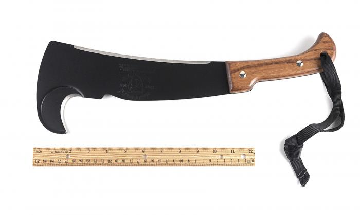 Woodman's Pal Classic Made in the USA Machete with Cordura Sheath & Honing Stone, 481-NS