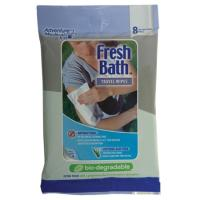 Adventure Medical Fresh Bath Bio Travel Wipes
