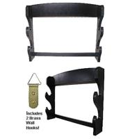 2 Sword Wall Display Rack