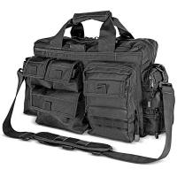 Kilimanjaro Tectus Tactical Briefcase Conceal Carry Bag, Black