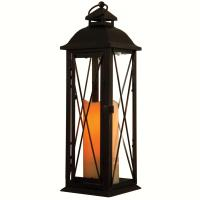 Smart Solar Siena LED Candle Lantern